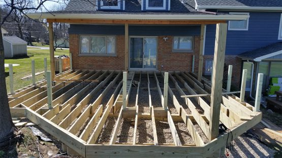 Deck During Construction