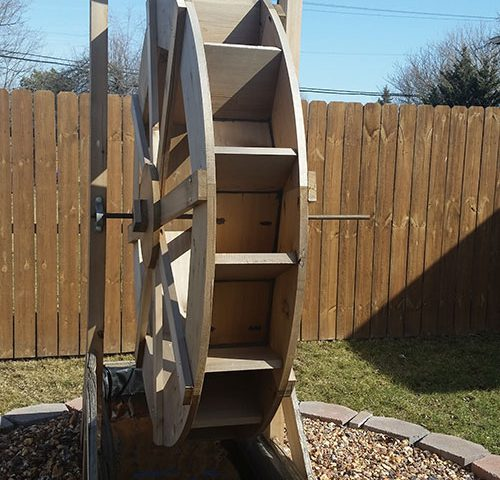 Custom Water Wheel