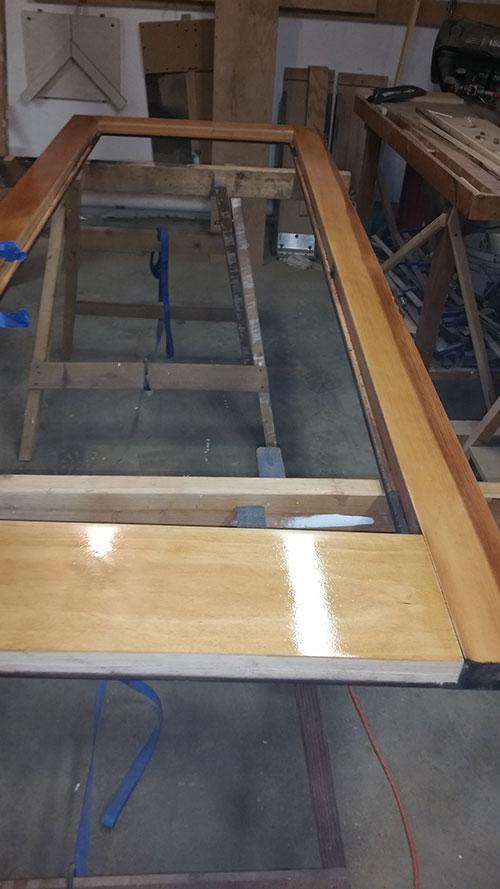 ... Wood restoration - After ... & Wood Door Restoration u2013 ISQ Carpentry pezcame.com
