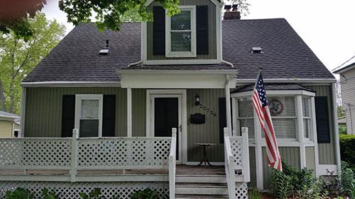 Porch restoration